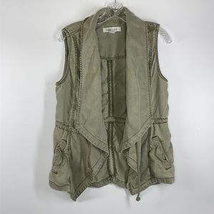 Kenneth Cole Reaction Green Draped Vest